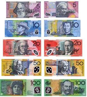 Купюры австралии 10 рублей архангельск